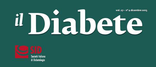 """""""Il Diabete"""" volume 27, numero 4, dicembre 2015"""