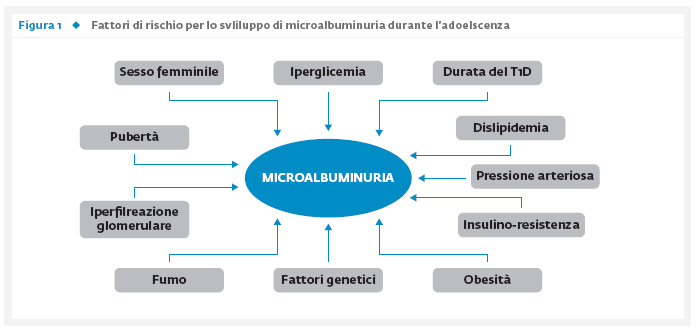 La microalbuminuria come fattore di rischio e di evoluzione della nefropatia nel bambino con diabete tipo 1
